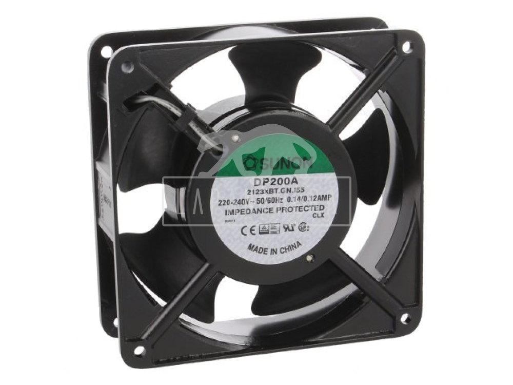 Sunon DP200A2123XBT ~ IP55; 120x120x38mm; 220-240VAC; 50/60Hz
